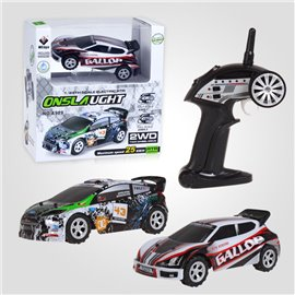 1:24 RC ELECTRICO WLToys A989 Drift Rally 2.4Ghz. RTR