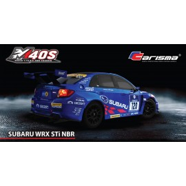CARISMA M40S SUBARU 1/10TH RTR BRUSHED