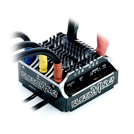 FLETA M8,2 Competition 1/8th Scale Brushless ESC 180A Black