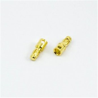 CONECTOR BANANA 3,5mm MACHO (2u.)
