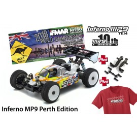 Kyosho Inferno mp9 tki4 10 aniversario Perth edition