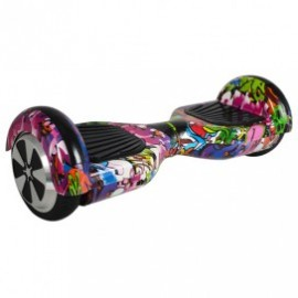 "BALANCE SCOOTER - 6.5"" VIOLETA HIP-HOP CON BLUETOOTH"
