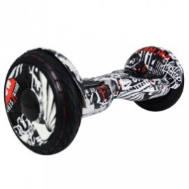 "BALANCE SCOOTER - 10"" PIRATA  CON BLUETOOTH"