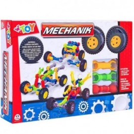 CONSTRUCCION MECHANIK EN PLASTICO