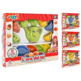 SET DE TE PORCELANA 12PCS