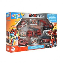 TRANSFORMER VEHICULOS BOMBERO