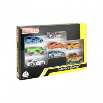 COCHES DIE CAST 8 UNIDADES