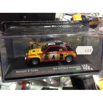 Maqueta Renault 5 TURBO J.Ragnotti Tour de France 1980