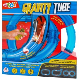 CIRCUITO CON COCHES GRAVITY TUBE