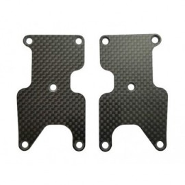 Placas carbono trapecios traseros, 1.2mm RC8B3.2 FT