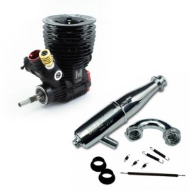COMBO MOTOR ULTIMATE M3X V2 CERAMIC + ESCAPE EFRA 2141