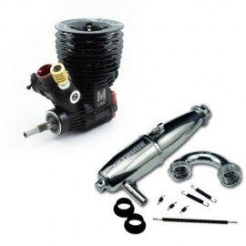 COMBO MOTOR ULTIMATE M3X V2.0 CERAMIC + ESCAPE EFRA 2141