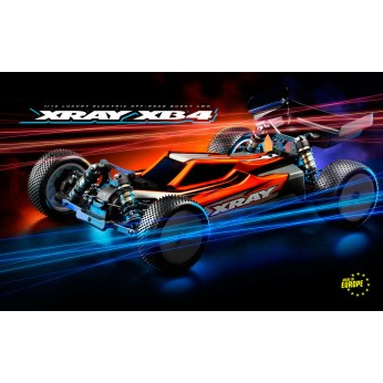 XRAY XB4D'21 - 4WD 1/10 ELECTRIC OFF-ROAD CAR - DIRT EDITION