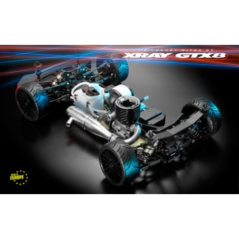 XRAY GTX8.3 - 1/8 LUXURY NITRO ON-ROAD GT CAR