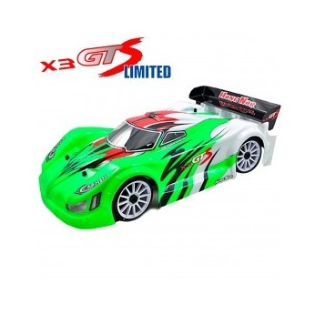 COCHE 1/8 NITRO RALLY X3GTS 2020 LIMITED KIT